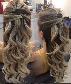 Super wedding hairstyles curly to the side low buns ideas Bridesmaid Hair, Prom Hair, Fancy Hairstyles, Wedding Hairstyles, Homecoming Hairstyles, How To Make Hair, Hair Dos, Bridal Hair, Hair Inspiration