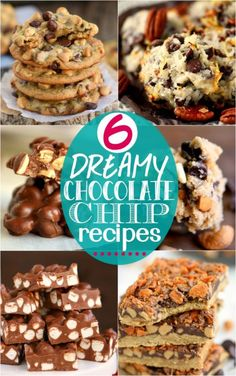 6 Dreamy Chocolate Chip Recipes - the best way to use up that bag of chocolate chips sitting in your pantry! | eBay
