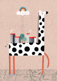 Animals. Part I by Teresa Bellon, via Behance