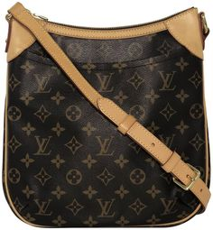 f0ba8ad2c390 Louis Vuitton Monogram Odeon Pm Brown Canvas Cross Body Bag - Tradesy Brown  Canvas