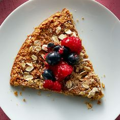 Oats Flatbread with Berry Topping - Recipe | QuakerOats.com