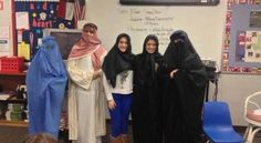"Students made to wear burqas in U.S. state - There are reports now that students were made to wear Muslim burqas as part of their public school lessons. CSCOPE has been facing criticism over its alleged Islamic and anti-American bias. It is a ""curriculum management system"" now used in 80 percent of Texas classrooms –  Read more at http://www.wnd.com/2013/02/students-made-to-wear-burqas-in-u-s-state/#88XvLI22FbODquIO.99"