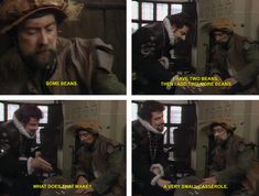 Classic Blackadder scene!! 'Some Beans' from Blackadder Series 2 Episode 2 Head