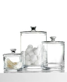 Hotel Collection Bath Accessories, Glass Jar Collection - Bathroom Accessories - Bed & Bath - Macys