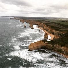 Why just drive the #greatoceanroad when you can #chopper it as well?  . . . . . #travelgram #australia #visitvictoria #12apostles #travel #luxury #helicopter #TravelLikeMe #nature #scenery #ocean by 1travelee http://ift.tt/1ijk11S
