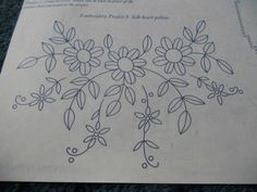 ru / Фото – vysivka hladka – – Lifestyles, lifestyles and standard of living The interdependencies and … Floral Embroidery Patterns, Embroidery On Clothes, Embroidery Transfers, Hand Embroidery Patterns, Applique Patterns, Embroidery Stitches, Machine Embroidery, Stitch Patterns, Mexican Embroidery