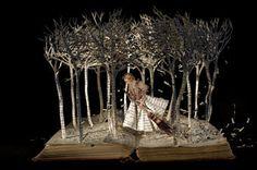 Incredible Book Cut Sculptures