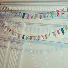 oopsie maizie: washi tape bunting... a tutorial...