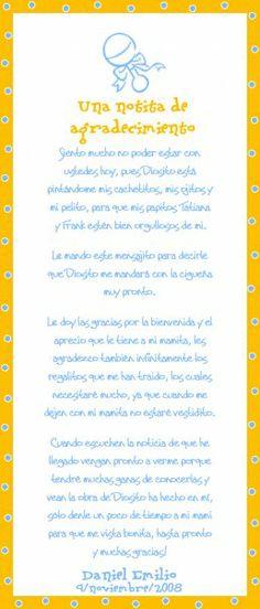 Palabras De Agradecimiento Por Baby Shower : palabras, agradecimiento, shower, Ideas, Shower, Manualidades,, Ducha, Chicas,, Tarjetas, Infantiles