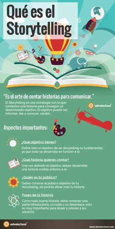 Qué es Storytelling #infografía