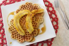 Incredibly Edible: Buckwheat & Banana Waffles ~ Gluten & Dairy free