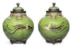Asian Art Week at Christie's London in November Japanese Porcelain, Japanese Ceramics, Chinese Ceramics, Fine Porcelain, London In November, Green Ground, E Mc2, Art Japonais, Glass Art