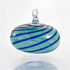 Smooth Sailing by Theo Keller (Art Glass Ornament)