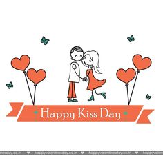 write name on happy kiss day images. little girl kissing boy image with my name editor set whatsapp dp