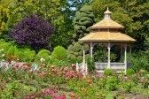 Wooden Gazebo In Colorful Spring Garden Royalty Free Stock Photo, Pictures, Images And Stock Photography. Image 14511439.