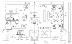 Awesome Plan Maison Autocad Pdf that you must know, You?re in good company if you?re looking for Plan Maison Autocad Pdf Restaurant Floor Plan, Hotel Floor Plan, Hotel Design Architecture, Hotel Lobby Design, Architecture Plan, Design Entrée, Plan Design, The Plan, How To Plan
