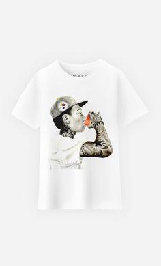 T-Shirt Enfant Wiz Khalifa by Michael Durocher - Wooop.fr
