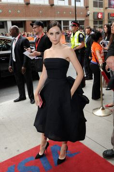 Fabulously Spotted: Felicity Jones Wearing Christian Dior – 'The Invisible Woman' Premiere 2013 Toronto International Film Festival - http://www.becauseiamfabulous.com/2013/09/felicity-jones-wearing-christian-dior-the-invisible-woman-premiere-2013-toronto-international-film-festival/