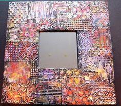 Beyond the Fringe: Metal Foil Art Mirrors