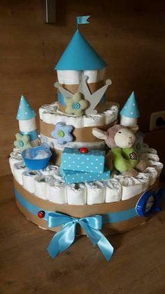Torte Taufe Baby Girl Geldgeschenk Verpackung Geburt Handarbeit supersüß !!!!