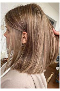 Brown Hair Balayage, Blonde Hair With Highlights, Brown Blonde Hair, Black Hair, Light Brown Highlights, Blonde Hair With Brown Underneath, Brown Hair With Lowlights, Blonde Honey, Honey Balayage
