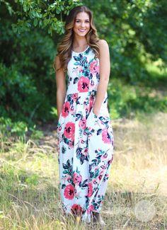 Daisies & Daydreams Maxi Dress | Monday Dress Boutique