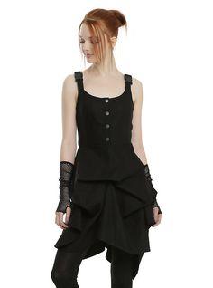 Star Wars Rogue One Rebel Alliance Flight Suit Dress, BLACK