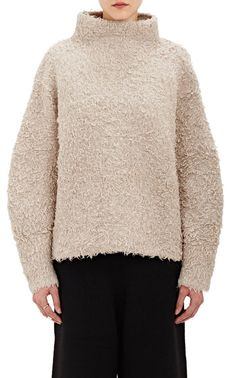 · Color: taupe · Size: OS · THICK KNITTED SWEATER · CRAFTED FROM A BABY ALPACA AND MERINO BLEND IN A SOFT, TEXTURED WEAVE · HAND-LOOMED SHERPA KNIT · HIGH STAND NECK · LONG SLEEVED · DROPPED SHOULDERS · HEAVYWEIGHT SWEATER · OVERSIZED SILHOUETTE · LUXURIOUS FABRICATION · MADE IN PERU · ONE SIZE · 59% BABY ALPACA, 41% MERINO WOOL. | eBay!