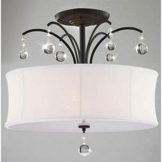 Warehouse of Tiffany Roxanne 5-Light Ceiling Black Crystal Chandelier-RL4822 at The Home Depot $71