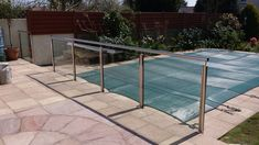 Post Channel Design, Stainless Steel and Glass Balconies, Metal Working, Channel, Iron, Stainless Steel, Island, Glass, Design, Verandas