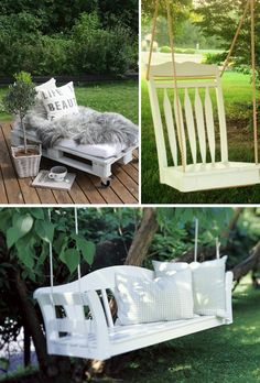 1000 images about lav selv havem bler diy garden furniture. Black Bedroom Furniture Sets. Home Design Ideas