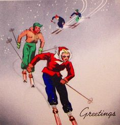 Christmas on the slopes.