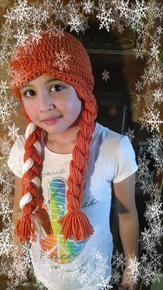Frozen's Anna Inspired Hat