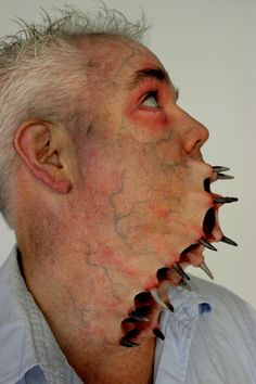 Prosthetic Mutant Makeup by Rhonda Causton