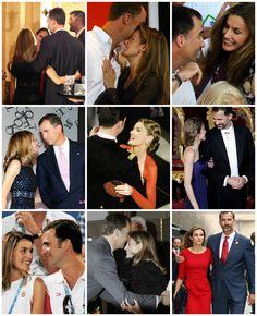 September 15, 2013➝Princess Letizia's 41st birthday♔♔  The Princess and her husband