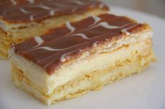 mille feuille glacage 2 chocolats