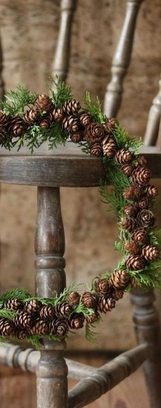 Decoration - Soon Cobb Country Christmas, Winter Christmas, Xmas Wreaths, Christmas Decorations, Thank You Happy Birthday, Corona Floral, Natural Christmas, Christmas Time Is Here, Diy Wreath