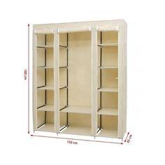Wardrobe-Closet-Clothes-Organiser-Bedroom-Storage-Portable-Furniture-Home-House