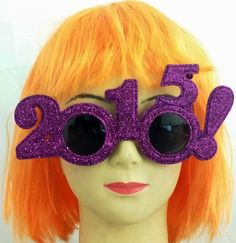 bd1d9f0d8c6 2015 Purple Glitter Glasses Novelty Party Xmas Hen Stag Funky Geek Disco  Dress Glitter Glasses