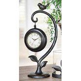 Bird Swinging Clock