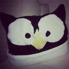 Owl baby Hat  Chapeu de bebê corujinha