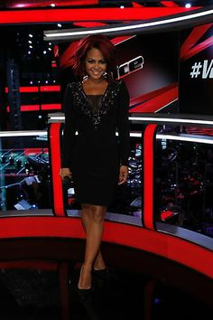#TheVoice - Season 4 - @Christina Milian in our Rachel's Luck Ring, Fab-You-Luss Studs and Band is a Band Rings - gorgeous!! #christinamilian @TheVoice .