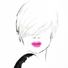 fashion sketch art prints - Recherche Google