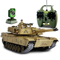 Hobby RC Tanks - Forces of Valor Radio Controlled US Abram Tank 124 Scale -- Click image for more details.