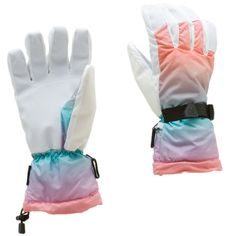 Roxy Snow Drift Glove  Pretty cool but white gloves get dirty so damn easily!! :'( but they're so damn cute!