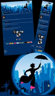 Mary Poppins Broadway Journal by kproductions.deviantart.com on @DeviantArt