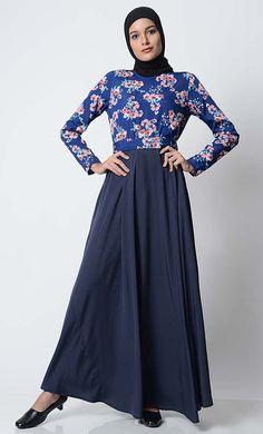 East Essence Abaya Dress  -  at PlusSizeDesi.com #psdesi #plussize #plussizedesi #desiclothing #psd Modest Wear, Modest Outfits, Black Abaya, Kaftan Style, Pakistani Outfits, Baby Dress, Casual Wear, Desi, High Neck Dress