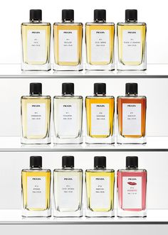 Prada Perfume - I like the simplicity of the bottles