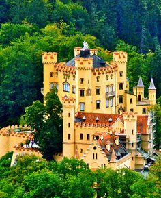 Hohenschwangau Castle, Bavaria ,germany: