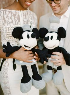 14 Ways to Add Some Disney Magic to Your Wedding Day--- my wedding will have hidden Mickey's!!!
